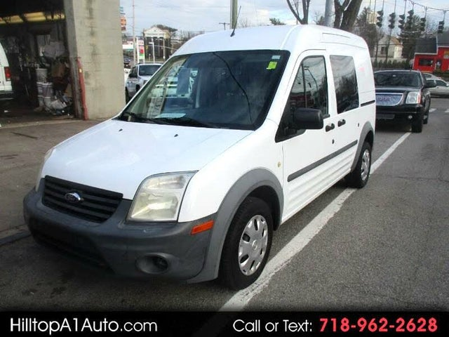 2012 Ford Transit Connect Cargo XL FWD with Side and Rear Glass