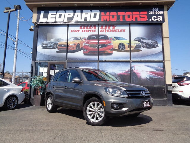 2012 Volkswagen Tiguan Comfortline 4Motion AWD