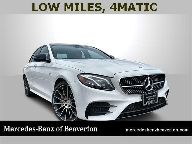 2020 Mercedes-Benz E-Class E AMG 53 4MATIC Sedan AWD