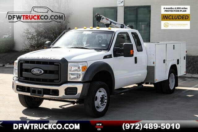 2014 Ford F-450 Super Duty Chassis XL SuperCab 162 DRW 4WD