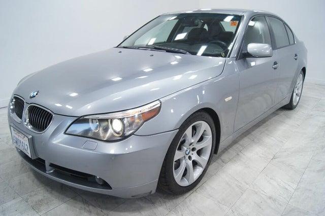 2007 BMW 5 Series 550i Sedan RWD