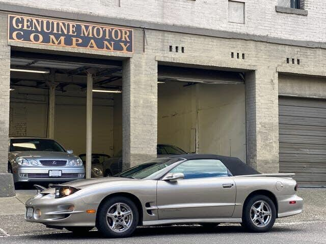 2002 Pontiac Firebird Trans Am Convertible