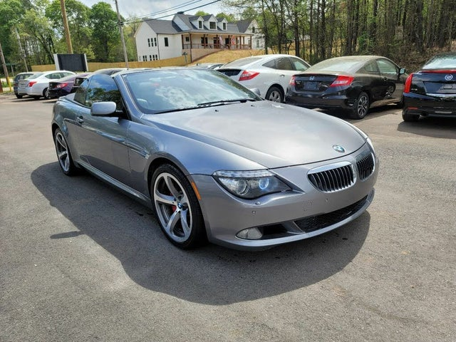 2008 BMW 6 Series 650i Convertible RWD