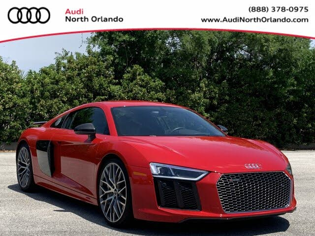 2018 Audi R8 quattro V10 Plus Coupe AWD