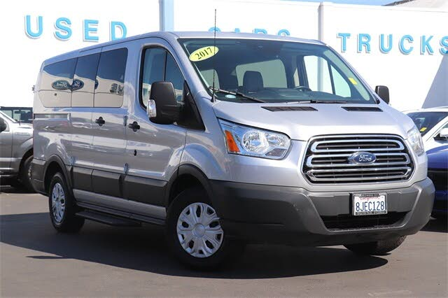2017 Ford Transit Passenger 150 XLT Low Roof RWD with 60/40 Passenger-Side Doors