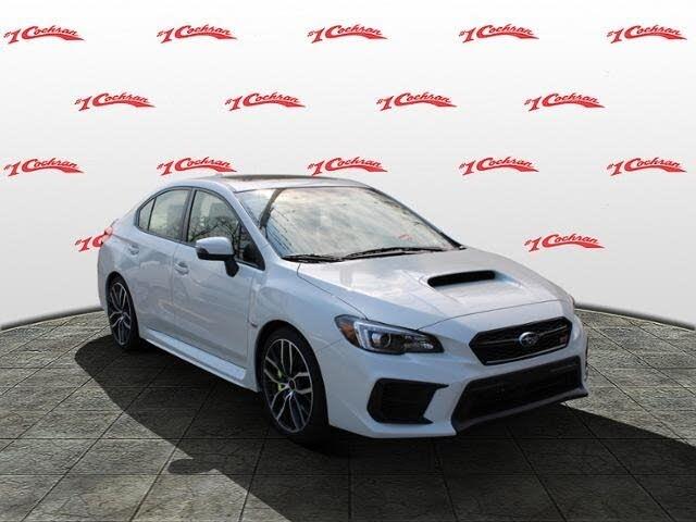 2021 Subaru WRX STI Limited AWD with Low Profile Spoiler