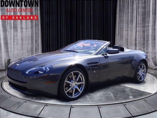 2008 Aston Martin V8 Vantage Roadster RWD