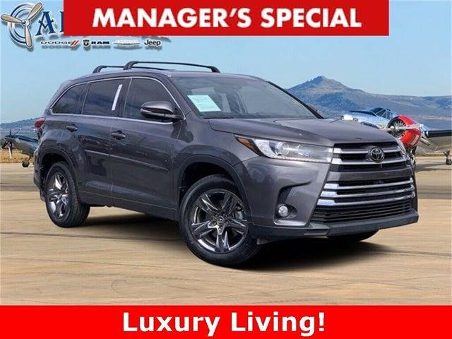 2018 Toyota Highlander Limited Platinum AWD