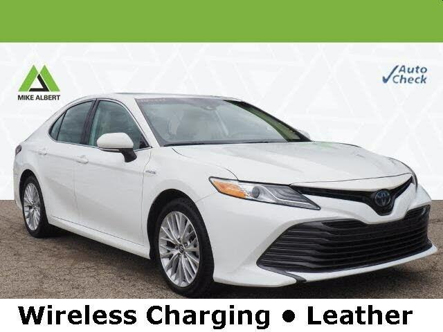 2019 Toyota Camry Hybrid XLE FWD