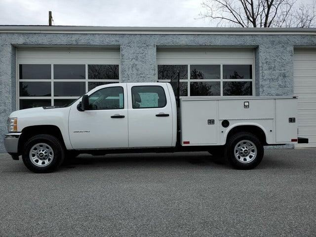 2013 Chevrolet Silverado 3500HD Work Truck Crew Cab LB DRW RWD