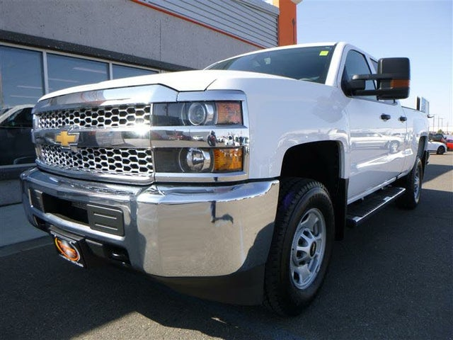 2019 Chevrolet Silverado 2500HD Work Truck Double Cab 4WD