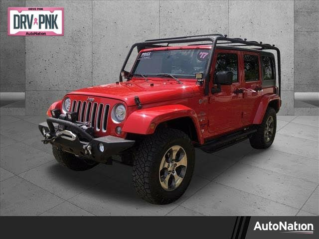 2017 Jeep Wrangler Unlimited Sahara 4WD