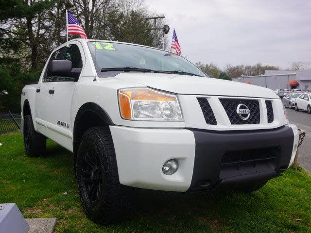 2012 Nissan Titan PRO-4X Crew Cab 4WD