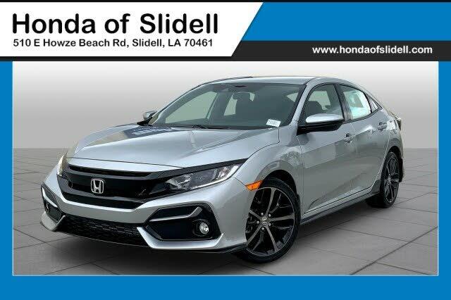 2021 Honda Civic Hatchback Sport FWD