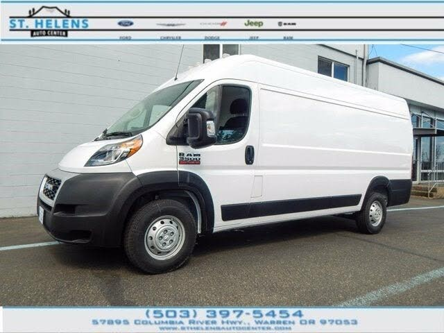 2021 RAM ProMaster 3500 159 High Roof Extended Cargo Van FWD