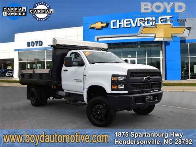 2019 Chevrolet Silverado 4500HD Work Truck Regular Cab RWD