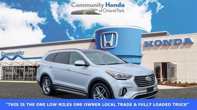2019 Hyundai Santa Fe XL Limited Ultimate AWD