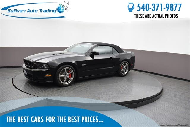 2013 Ford Mustang GT Premium Convertible RWD