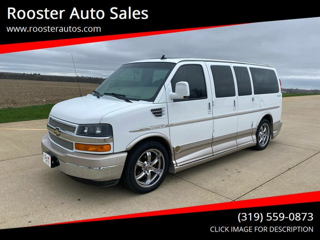 2010 Chevrolet Express Cargo 1500 AWD with Upfitter