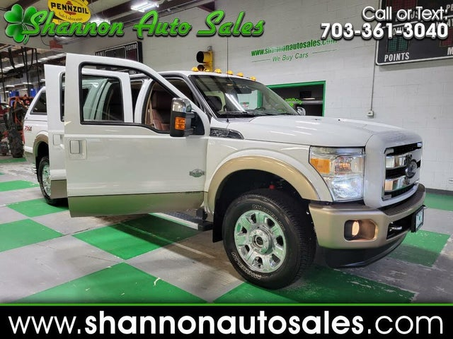 2014 Ford F-350 Super Duty King Ranch Crew Cab LB 4WD