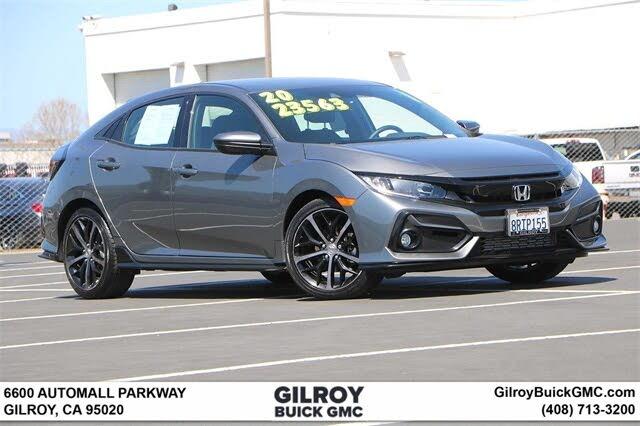 2020 Honda Civic Hatchback Sport FWD