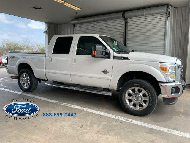 2015 Ford F-250 Super Duty Platinum Crew Cab 4WD
