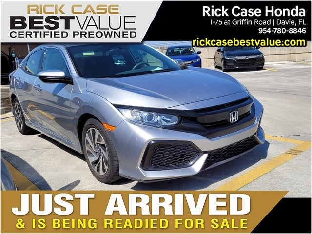 2018 Honda Civic Hatchback LX FWD