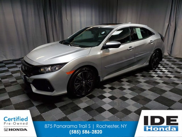 2018 Honda Civic Hatchback EX-L FWD with Navigation and Honda Sensing