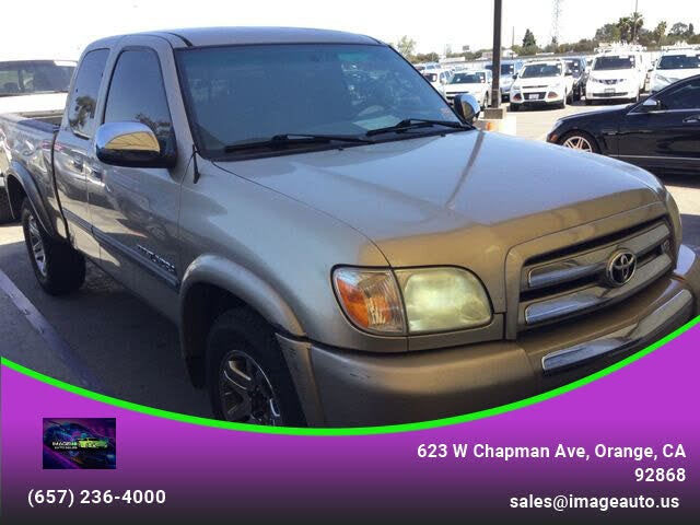 2005 Toyota Tundra 4 Dr SR5 Extended Cab Stepside SB