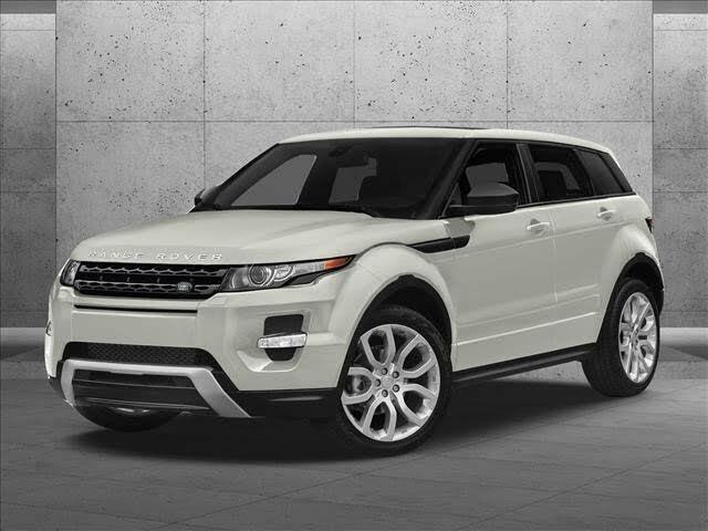 2015 Land Rover Range Rover Evoque Autobiography Hatchback