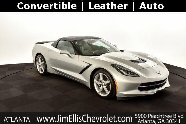 2015 Chevrolet Corvette Stingray 1LT Convertible RWD