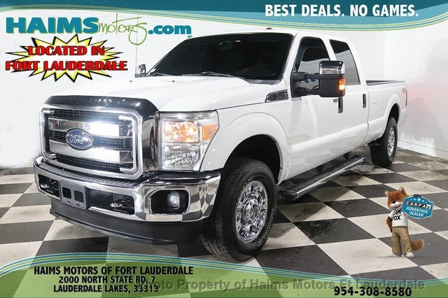 2015 Ford F-250 Super Duty XLT Crew Cab 4WD