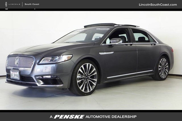2018 Lincoln Continental Reserve FWD