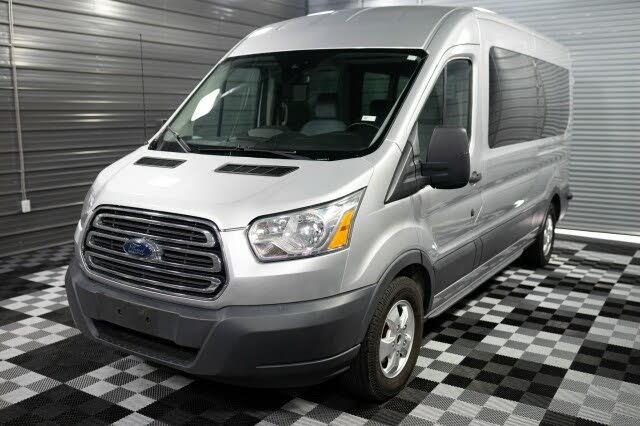 2017 Ford Transit Passenger 350 XLT Medium Roof LWB RWD with Sliding Passenger-Side Door