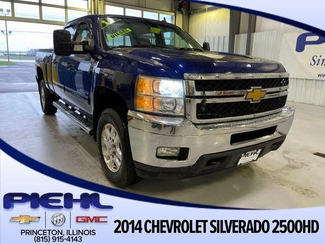 2014 Chevrolet Silverado 2500HD LT Crew Cab 4WD