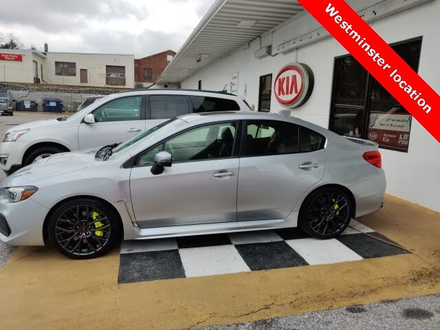 2018 Subaru WRX STI Limited AWD with Low Profile Spoiler