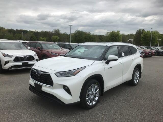 2021 Toyota Highlander Hybrid Limited AWD
