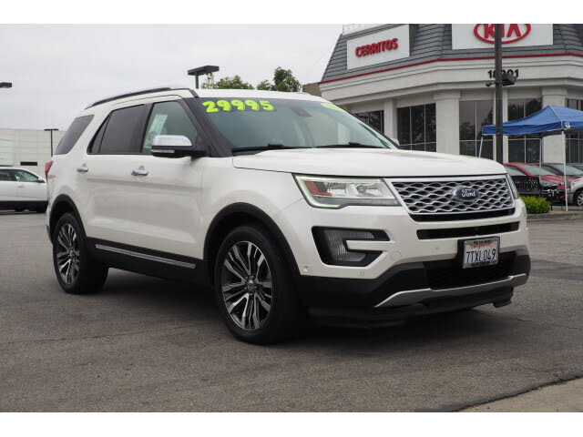 2016 Ford Explorer Platinum 4WD