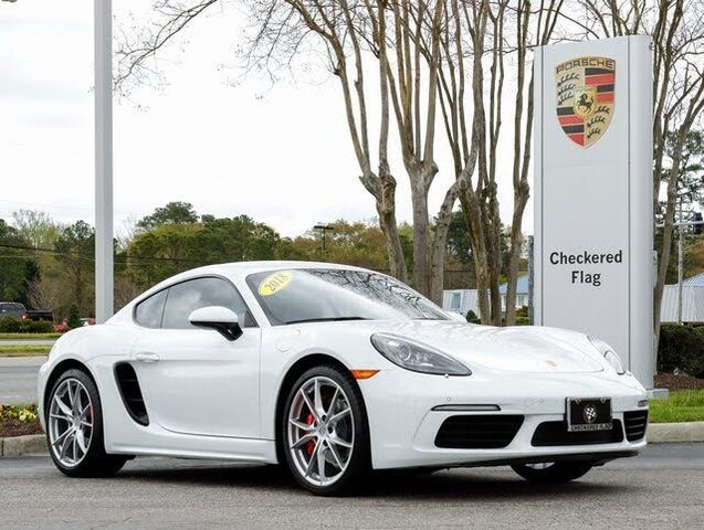 2018 Porsche 718 Cayman S RWD