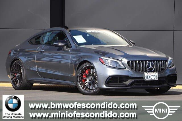 2019 Mercedes-Benz C-Class C AMG 63 S Coupe RWD