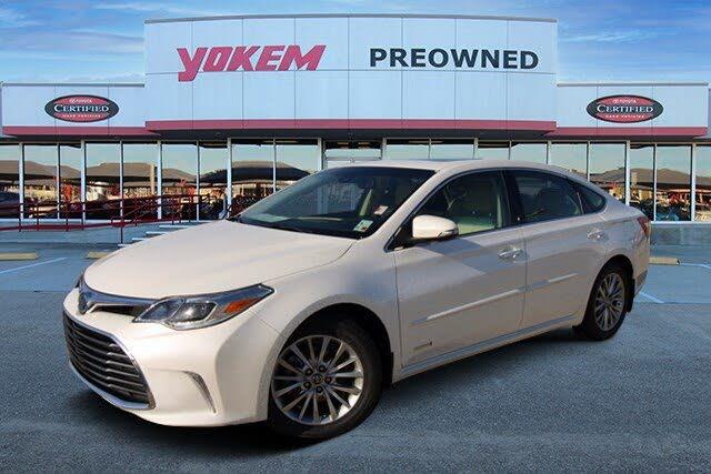 2017 Toyota Avalon Hybrid Limited FWD