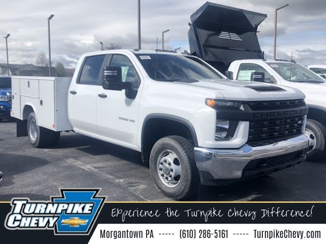 2021 Chevrolet Silverado 3500HD Chassis Work Truck Crew Cab 4WD