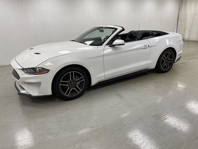 2020 Ford Mustang EcoBoost Premium Convertible RWD