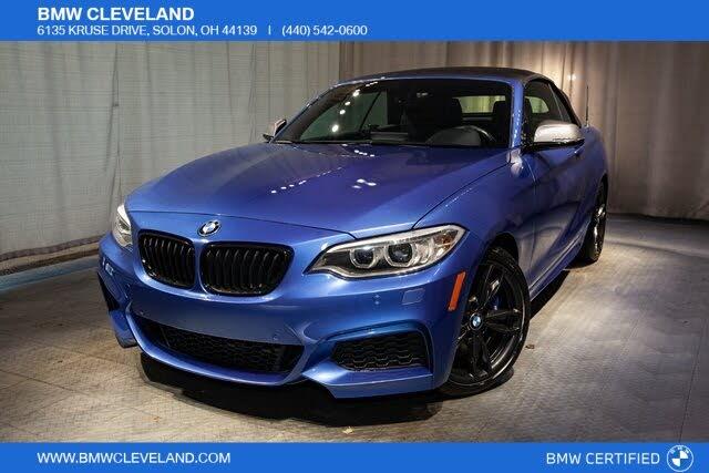 2017 BMW 2 Series M240i xDrive Convertible AWD