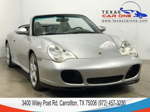 2004 Porsche 911 Carrera 4S Convertible AWD