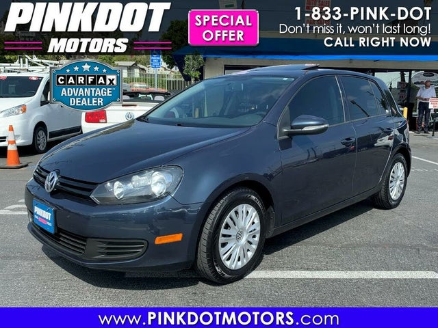 2013 Volkswagen Golf FWD with Conv