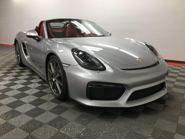 2016 Porsche Boxster Spyder RWD