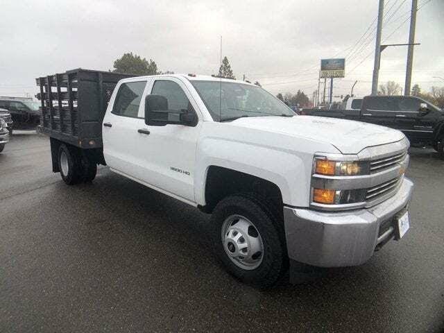 2016 Chevrolet Silverado 3500HD Work Truck Crew Cab LB DRW 4WD