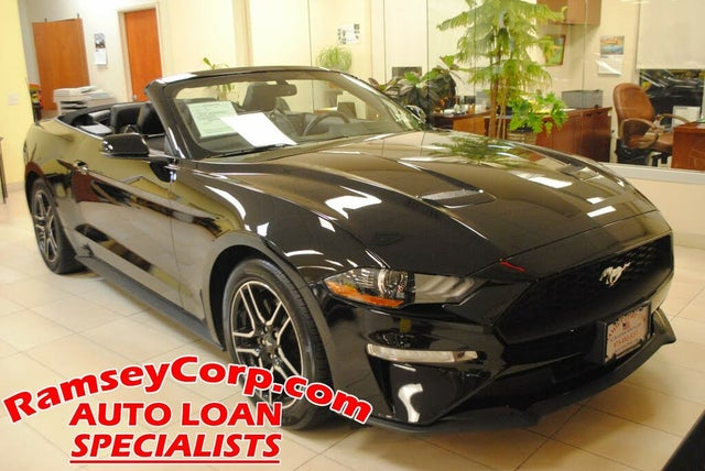 2020 Ford Mustang EcoBoost Convertible RWD