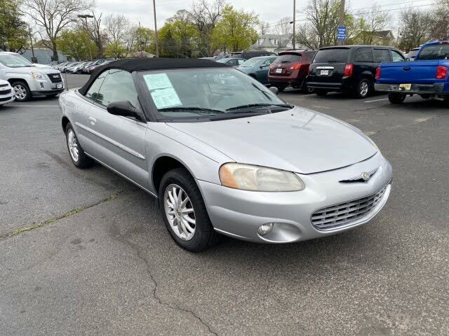 2002 Chrysler Sebring LXi Convertible FWD